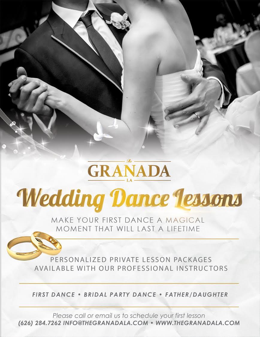 Wedding Quinceanera Lessons The Granada La